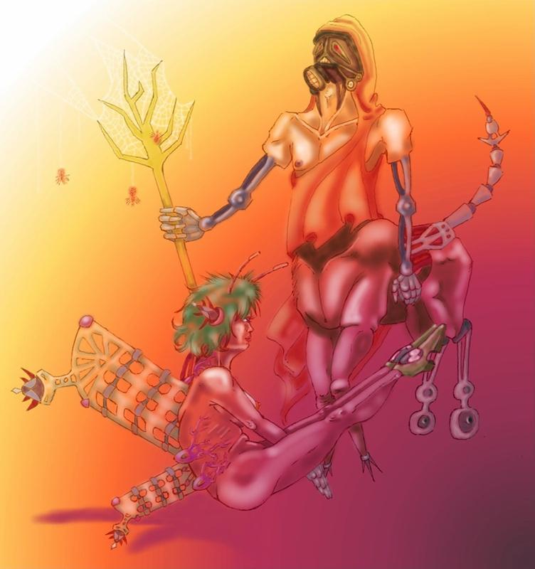 Rhapsody of Cyborgs by JestemBazyliszkiem