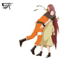 Naruto Kushina Hug 498 by StikyfinkaZ-003
