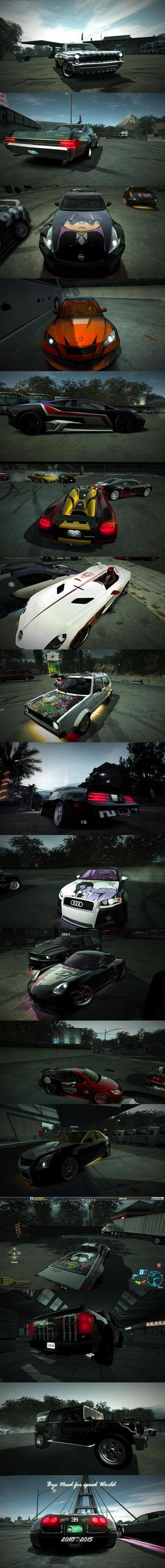 Bye Need For Speed World 2010 - 2015 by StikyfinkaZ-003