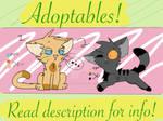 Adoptables! (READ DESCRIPTION FOR INFO)