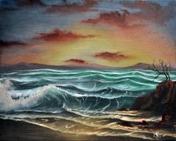 Ocean Mist by nailpolish7