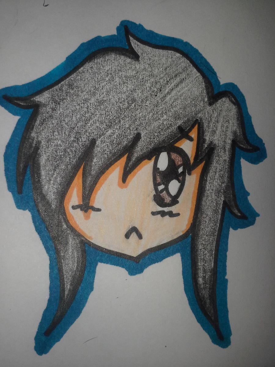 Chibi Sad by maeshughes1022