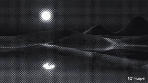 Ruby Beach - Digital Hatching - 4-Tone 16k