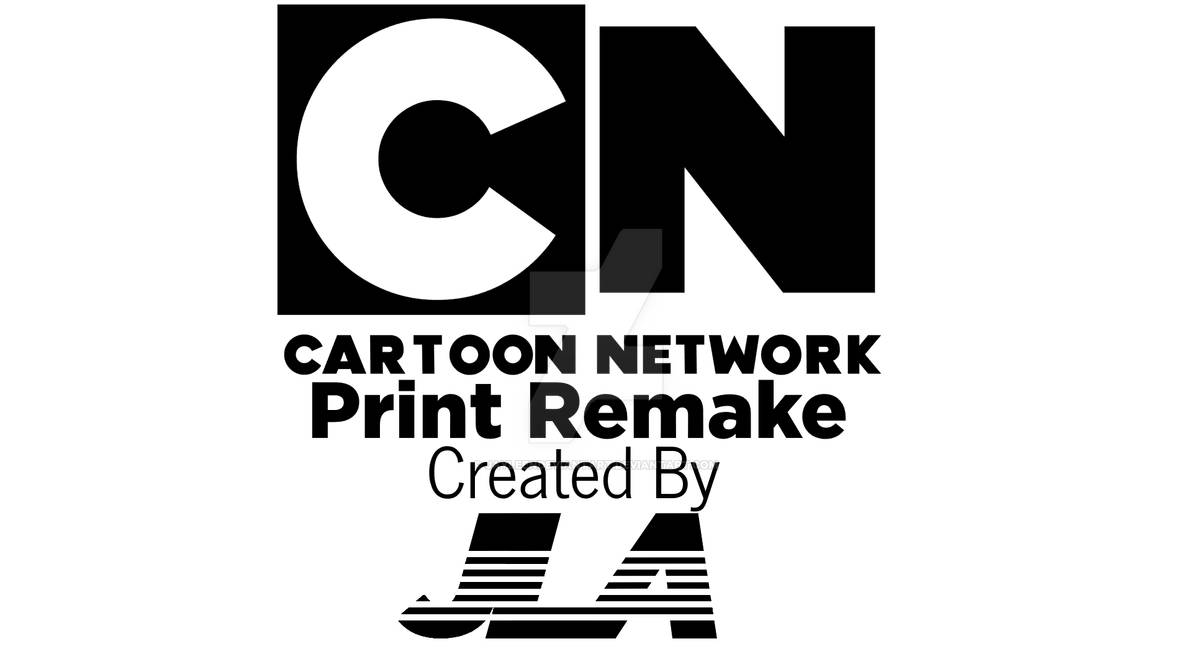 Cartoon Network 2010 Print Remake By Jayleendeviantart On Deviantart