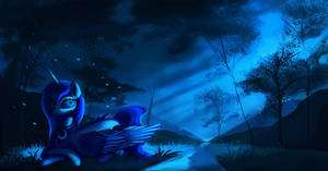 Luna's Cold night