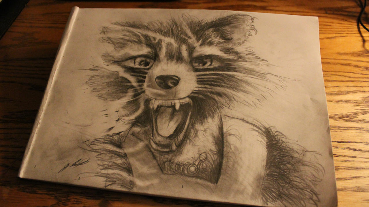 Star Lord And Rocket Raccoon By Timothygreenii On Deviantart: Sublime Rocket Raccoon Drawing Easy