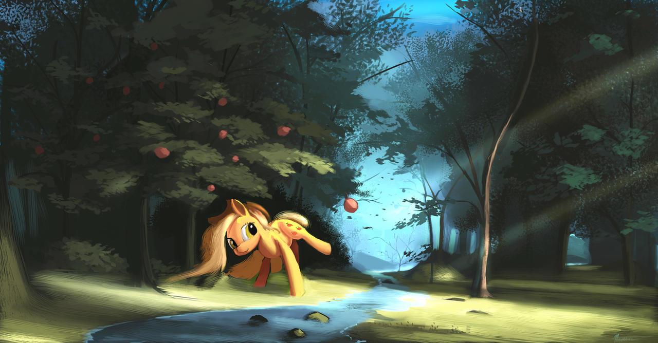 Applejack by Auroriia