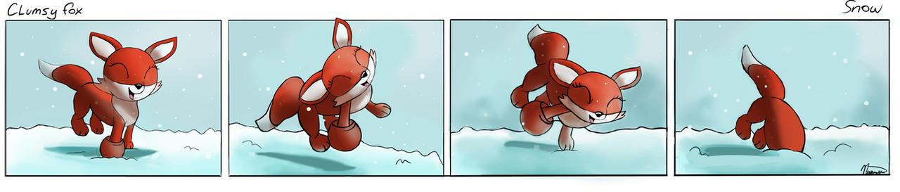 Snow by Auroriia