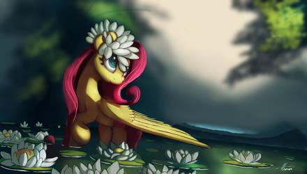 Fluttershy by Auroriia