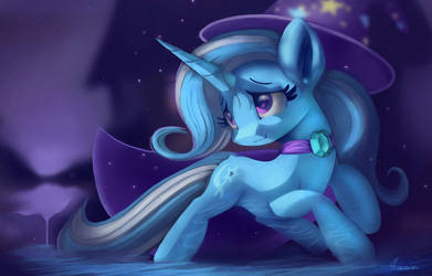 The great and powerful trixie,