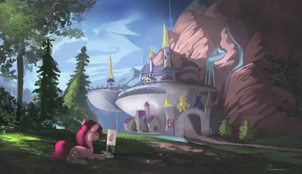Adventuring with Pinkie pie,