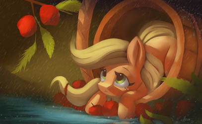 An apple kind of a day,