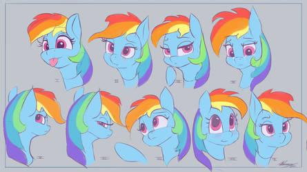 Rainbow Dashie,