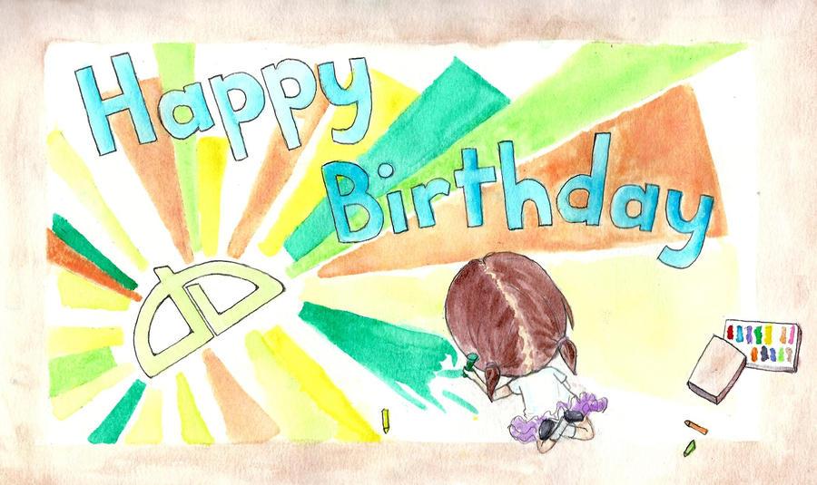 The Biggest Birthday Card Ever By Reasonbeautifulchild On Deviantart