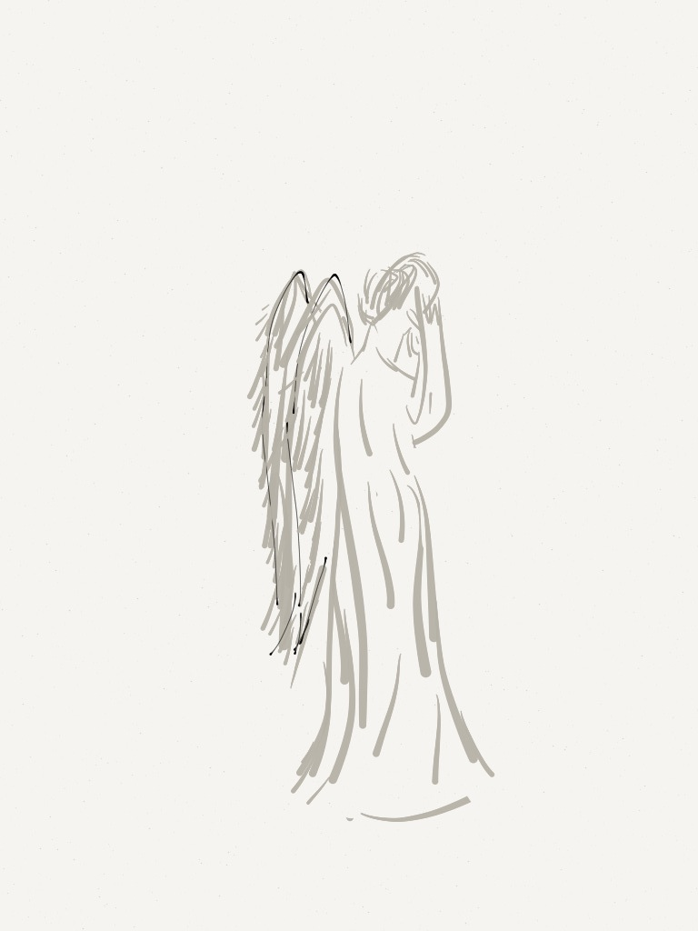 weeping angel simple doctor who by adele365 on deviantart