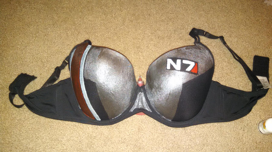 WIP Mass Effect Bra by Auzrill