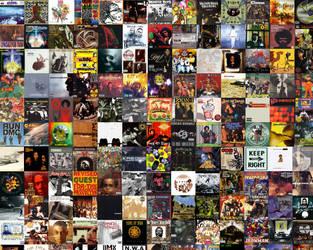 Hip Hop Album Wallpaper by Winterknights