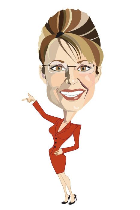 Sarah Palin by sobkaen