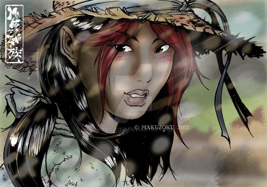 Izumi realistic portrait by MaKuZoKu