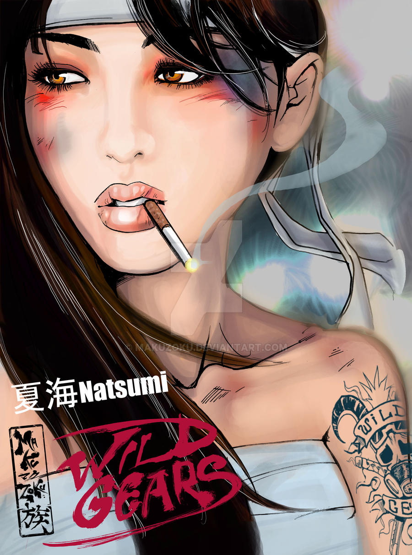 Natsumi portrait by MaKuZoKu