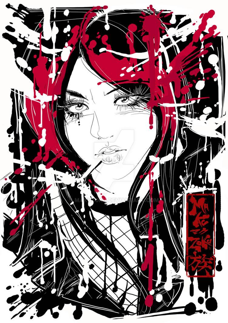 Izumi Ink Style by MaKuZoKu