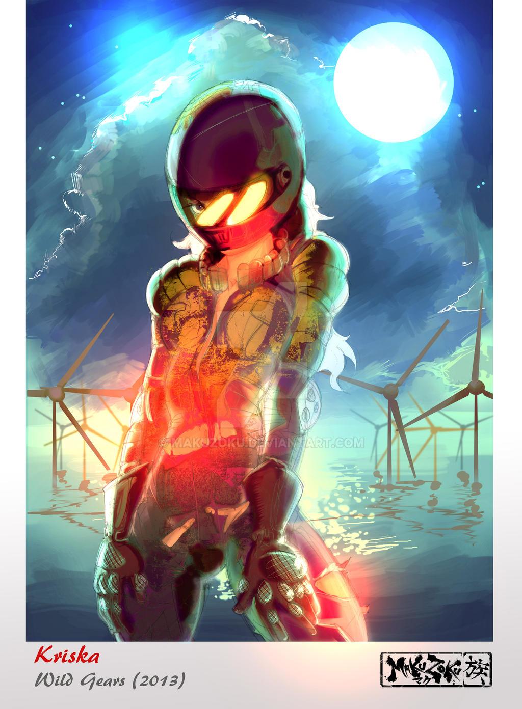 Kriska Bike suit v2 by MaKuZoKu