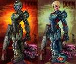 Doom girl double version