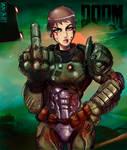 Doom Gal -No helmet version