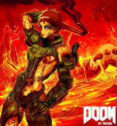 Doom gal 2017 by MaKuZoKu