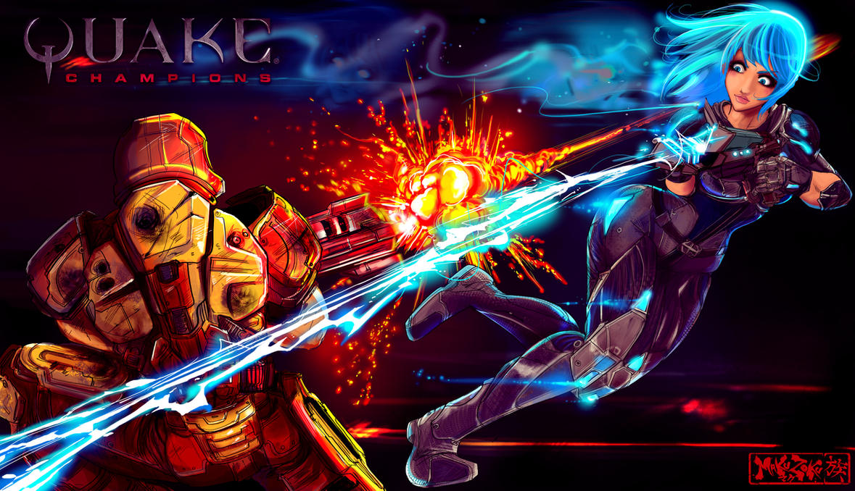 Quake Nyx vs Ranger by MaKuZoKu