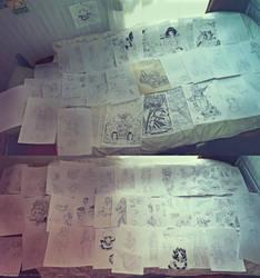 Sangria reboot concept arts by MaKuZoKu