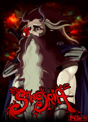 Demons King concept art by MaKuZoKu