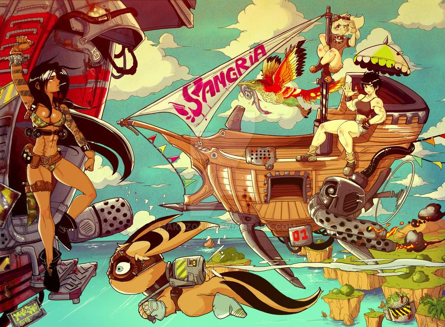 Summer Race -Sangria