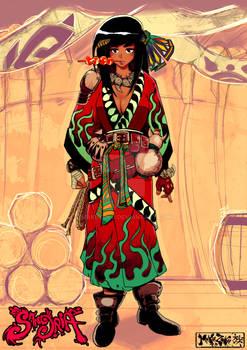 Sangria project : Baghera in kimono