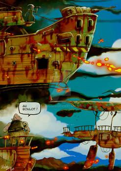 Sangria project: Demons Enslavers Airships