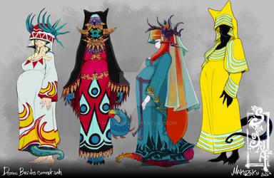 Sangria project : Demon brides concept art