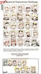 25 Expressions : Sangria by MaKuZoKu