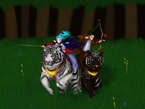 Kurazarrh and Dywn on Tigers