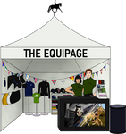 HaRPG EXPO: The Equipage Booth by Prettybold