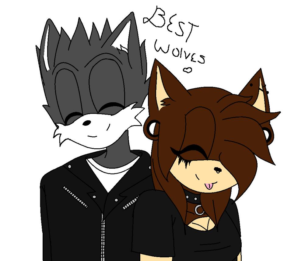 Best Wolves ...:: GIFT!!! ::... by MonsterLollipops