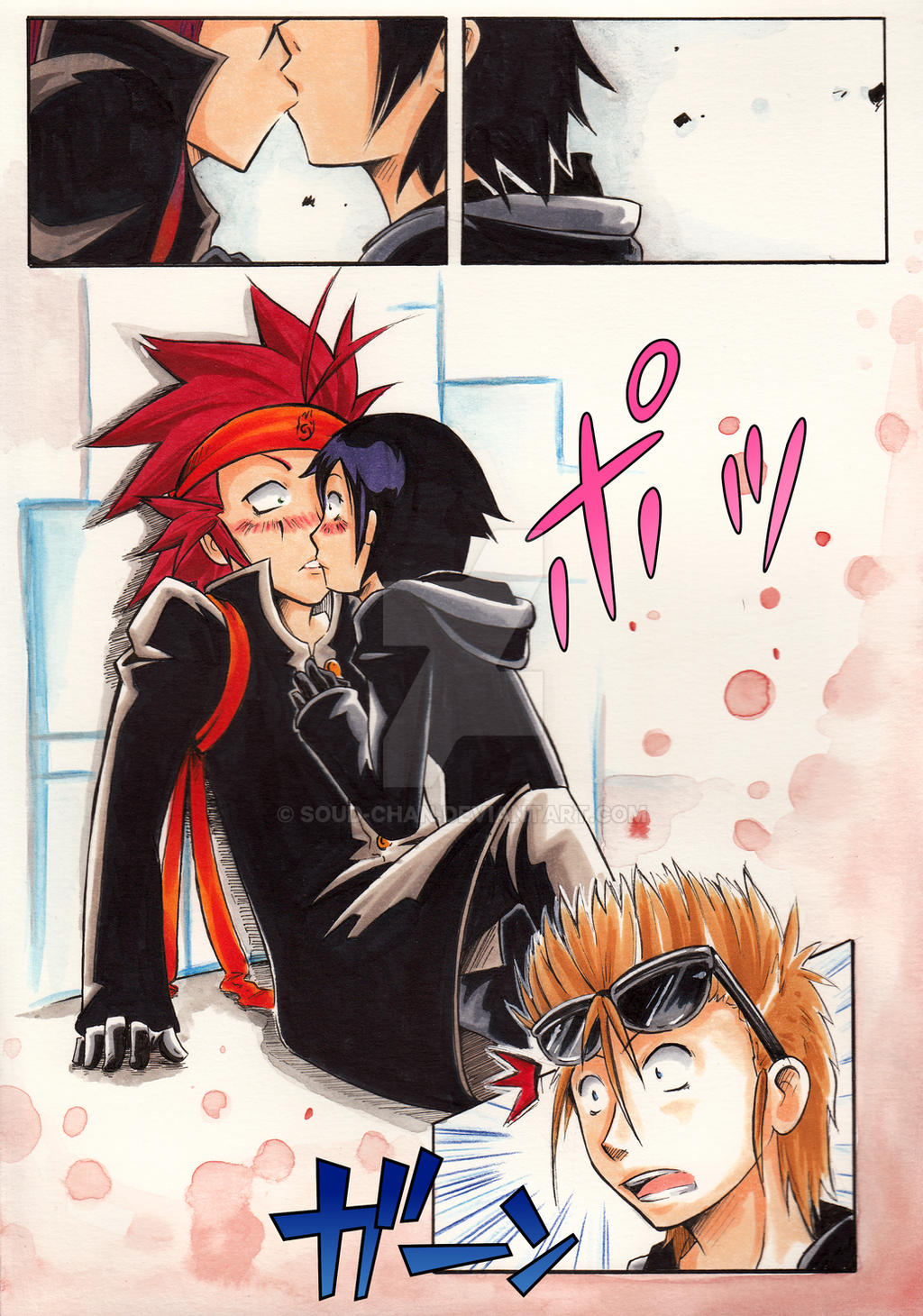 Aex Anime axel xion kisssoud-chan on deviantart