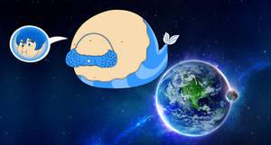 Aqua - Planet-Sized Beautiful Mermaid Balloon