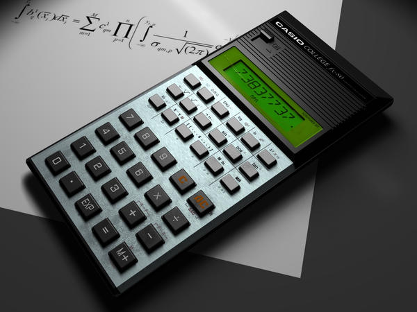 casio fx calculator how to read time