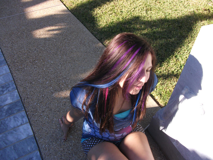My Halloween Tonks Hair 2010