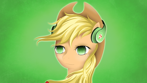 Applejack Headphones by Skardan