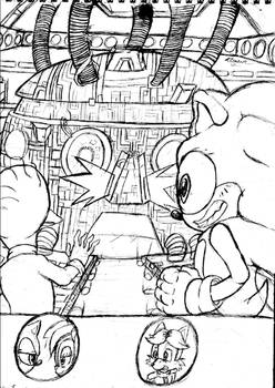 Sonic the hedgehog:Missing Links cover 165