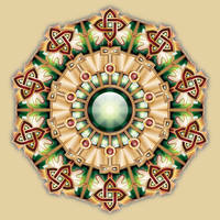 Celtic inspired Mandala by IllustratorG