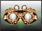 Steampunk Googles by IllustratorG