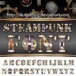 Steampunk FONT V2