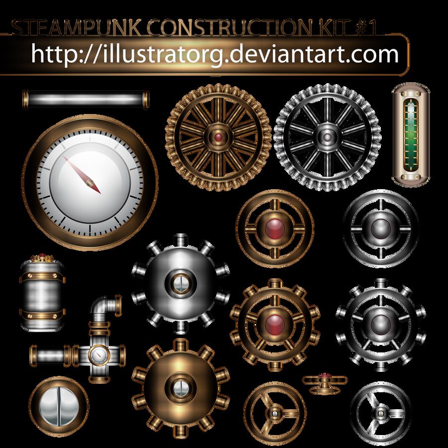ערכת בניית Steampunk 1 על ידי IllustratorG